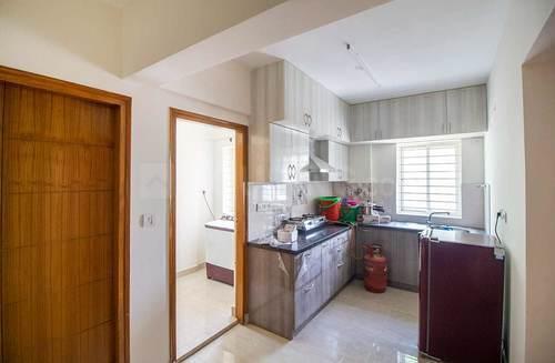 Kitchen Image of Flat No 204 Kayarr Providence Apartment in Kaikondrahalli