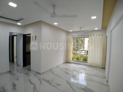 Gallery Cover Image of 675 Sq.ft 1 BHK Apartment for rent in RNA N G Silver Spring, Mira Road East for 14500