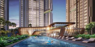 Gallery Cover Image of 1300 Sq.ft 3 BHK Apartment for buy in Man One Park Avenue 6, Thane West for 18000000