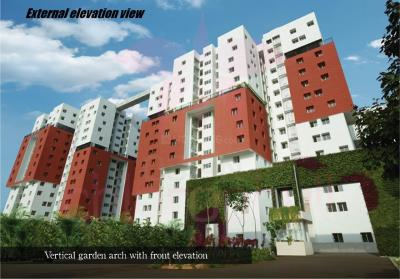 Gallery Cover Image of 1775 Sq.ft 3 BHK Apartment for buy in Porur for 12800000