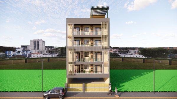 हुदा प्लॉट सेक. 2000 II, सेक्टर 4  में 4  खरीदें  के लिए 2000 Sq.ft 4 BHK इंडिपेंडेंट फ्लोर  के बिल्डिंग  की तस्वीर