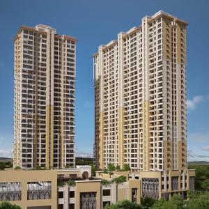 Gallery Cover Image of 996 Sq.ft 2 BHK Apartment for buy in Kharadi for 7300000
