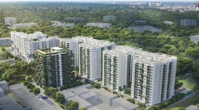 Gallery Cover Image of 1837 Sq.ft 3 BHK Apartment for buy in Mana Uber Verdant II, Doddakannelli for 11848650