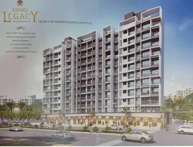 Gallery Cover Image of 1010 Sq.ft 2 BHK Apartment for buy in Nandkumar Janki Legacy, Mira Road East for 9180000
