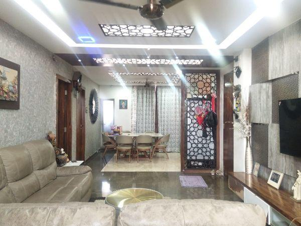 Living Room Image of 1500 Sq.ft 2 BHK Apartment for buy in Hiranandani Estate for 18000000