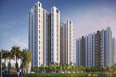 Gallery Cover Image of 1237 Sq.ft 3 BHK Apartment for buy in Baishnabghata Patuli Township for 7253500