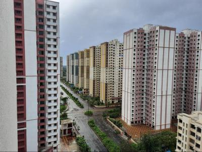 Gallery Cover Image of 680 Sq.ft 1 BHK Apartment for buy in M Baria Bldg No 16 Violet, Virar West for 4000000