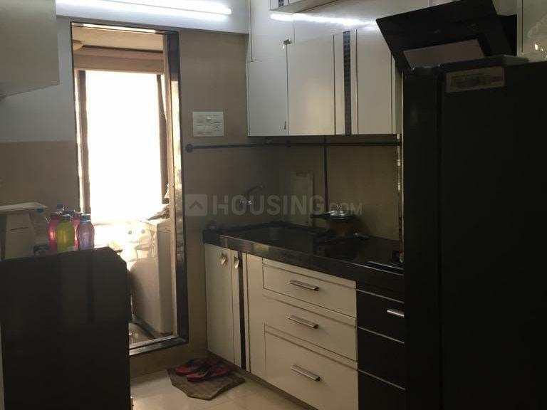 Kitchen Image of 980 Sq.ft 2 BHK Apartment for rent in Andheri East for 50000