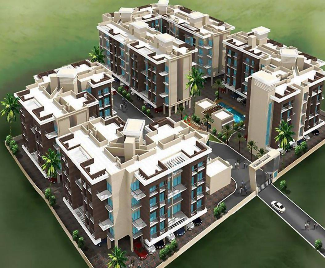 Building Image of 952 Sq.ft 2 BHK Apartment for buy in Taloje for 4426800