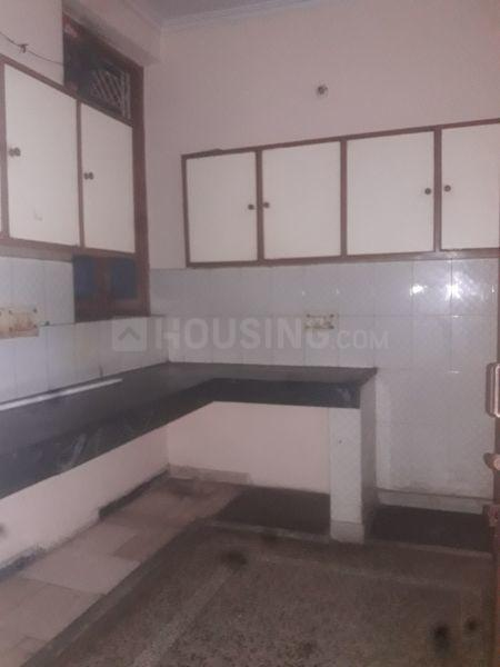 Kitchen Image of 528 Sq.ft 1 RK Independent Floor for rent in Sector 12 for 9000
