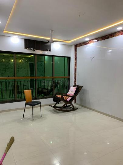 Living Room Image of 1250 Sq.ft 3 BHK Apartment for rent in Mulund East for 50000