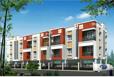 Gallery Cover Image of 1020 Sq.ft 2 BHK Apartment for buy in Sembakkam for 5500000