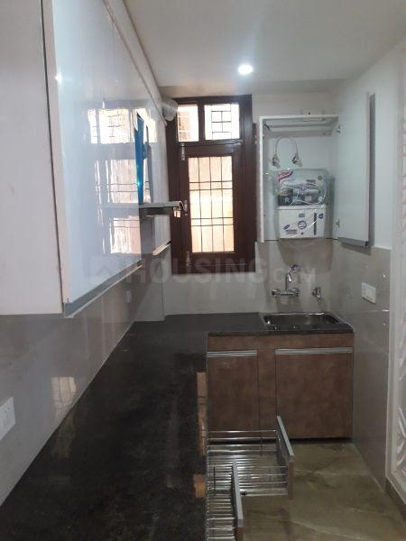 Kitchen Image of 900 Sq.ft 3 BHK Independent Floor for rent in Mahavir Enclave for 18000