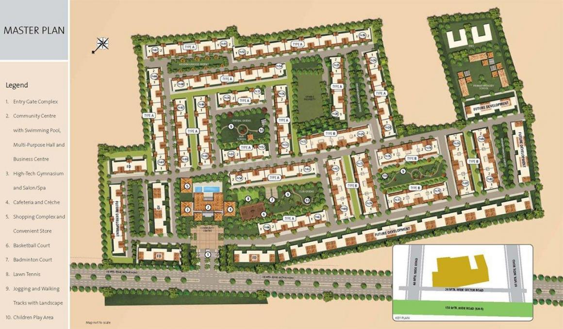 Emaar Palm Hills In Sector 77 Price Reviews Floor Plan