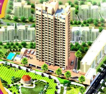 Gallery Cover Image of 665 Sq.ft 1 BHK Apartment for buy in Star Hibiscus Heights, Bhayandar East for 5672000