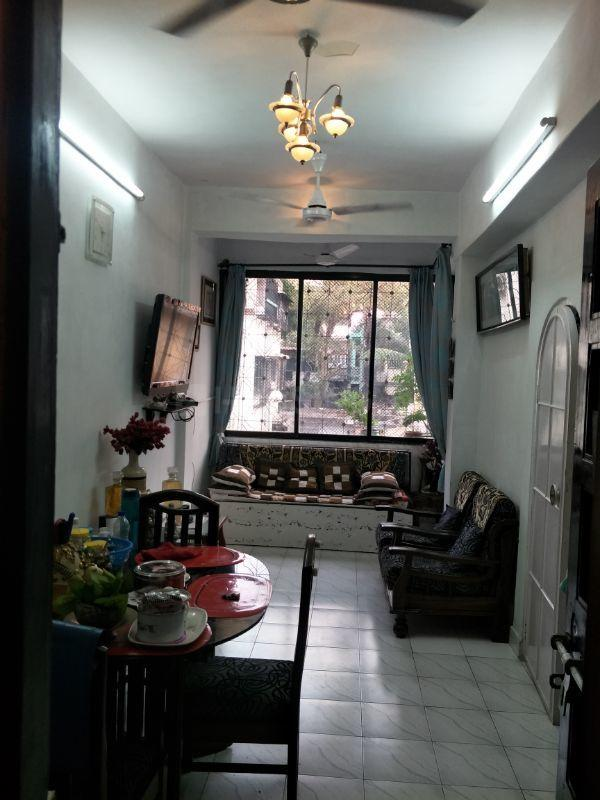 Living Room Image of 500 Sq.ft 1 BHK Independent Floor for buy in Bandra West for 8500000
