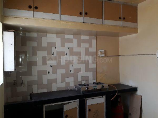 Kitchen Image of 650 Sq.ft 1 BHK Apartment for rent in Kothrud for 12500