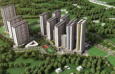 Gallery Cover Image of 1332 Sq.ft 3 BHK Apartment for rent in Tata Housing Amantra, Bhiwandi for 18000
