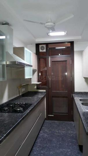 Kitchen Image of 1800 Sq.ft 3 BHK Independent Floor for rent in Lajpat Nagar for 70000
