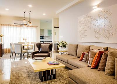 Gallery Cover Image of 1339 Sq.ft 3 BHK Apartment for buy in Mahaveer Grandis, J P Nagar 7th Phase for 9295000