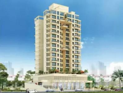 Gallery Cover Image of 715 Sq.ft 1 BHK Apartment for rent in Gami Vivaan, Kopar Khairane for 25000