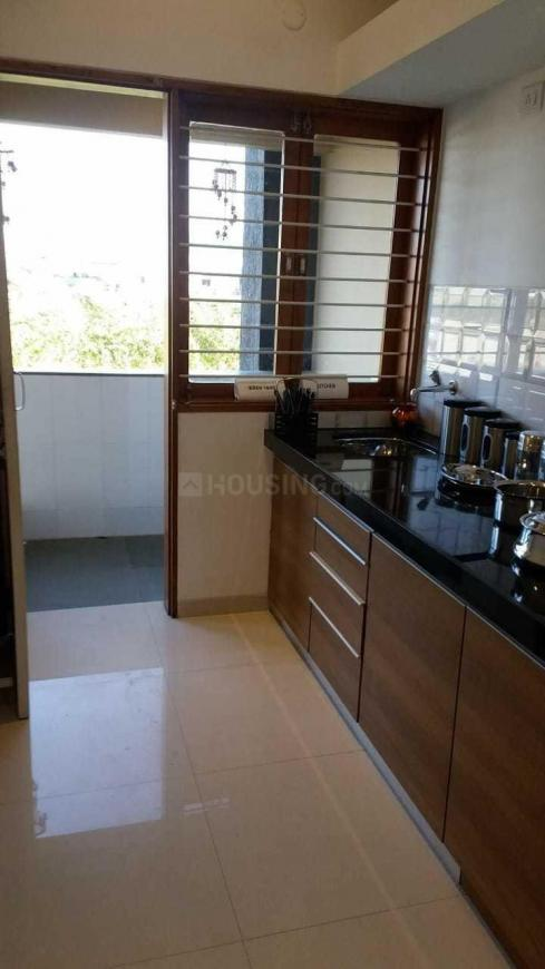 Kitchen Image of 612 Sq.ft 1 BHK Apartment for buy in Changodar for 1400000