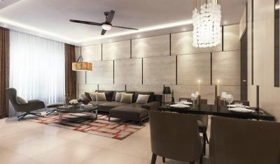 Living Room Image of 1450 Sq.ft 3 BHK Apartment for buy in Jewel Crest, Mahim for 71000000