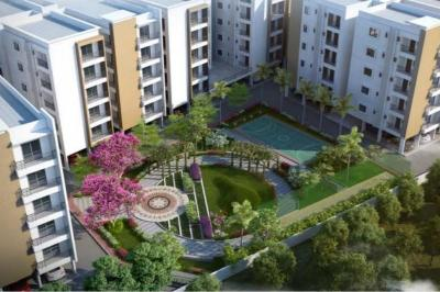Gallery Cover Image of 1210 Sq.ft 2 BHK Apartment for buy in Signature Fortius, Isnapur for 3500000