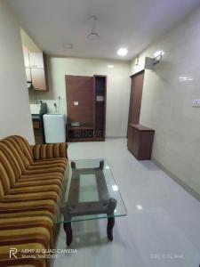 Gallery Cover Image of 650 Sq.ft 1 BHK Apartment for rent in Sat Guru Niwas, Kopar Khairane for 20000