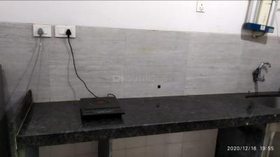 Kitchen Image of Certified PG Service Apartment Available In Thane Kasarvadavali (9082510518) Ynh in Kasarvadavali, Thane West