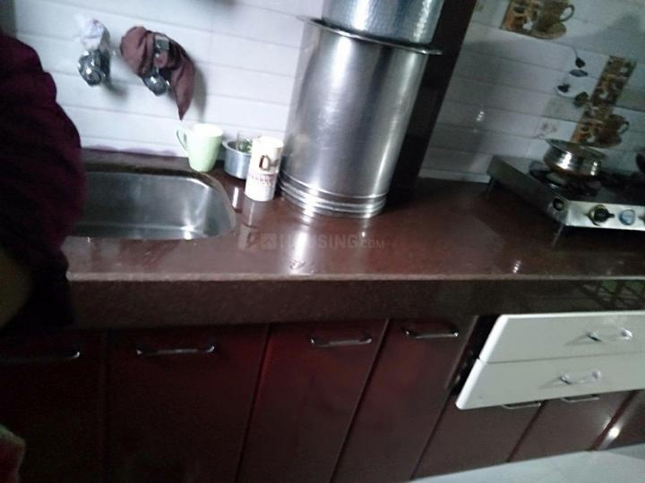 Kitchen Image of 325 Sq.ft 1 BHK Independent House for rent in Andheri East for 25000