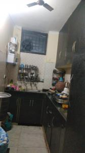 Kitchen Image of 650 Sq.ft 2 BHK Independent Floor for buy in Sushant Apartment, Pul Prahlad Pur for 2400000