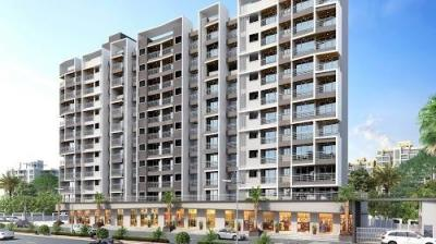 Gallery Cover Image of 665 Sq.ft 1 BHK Apartment for buy in Nandkumar Janki Legacy, Mira Road East for 5745600