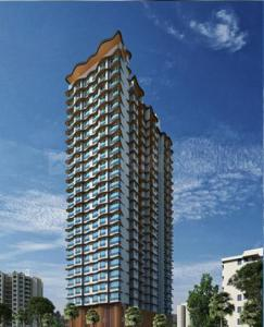 Gallery Cover Image of 646 Sq.ft 1 BHK Apartment for buy in Triveni Crown, Kalyan West for 4360000