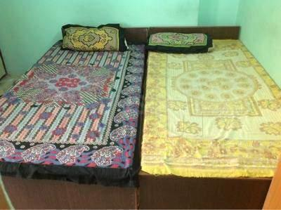 Bedroom Image of Simran PG Accommodation in Punjagutta