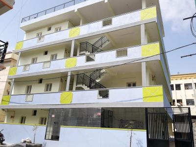 Gallery Cover Image of 650 Sq.ft 1 BHK Apartment for rent in GB Palya for 7500
