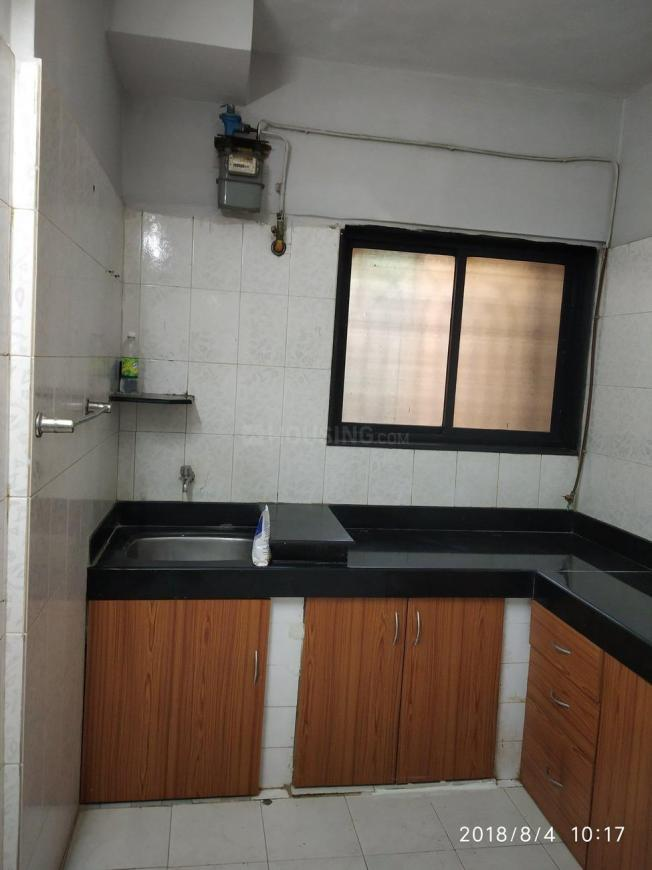 Kitchen Image of 507 Sq.ft 1 BHK Apartment for rent in Kandivali East for 21000