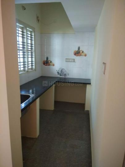 Kitchen Image of 1200 Sq.ft 1 BHK Independent Floor for rent in Battarahalli for 8500