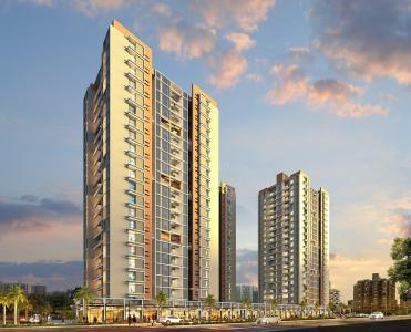 Gallery Cover Image of 931 Sq.ft 2 BHK Apartment for buy in Pyramid Atlante, Tathawade for 6440000