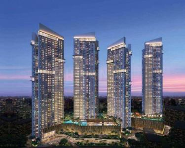 Gallery Cover Image of 953 Sq.ft 2 BHK Apartment for rent in Sheth Auris Serenity Tower 1, Malad West for 55000