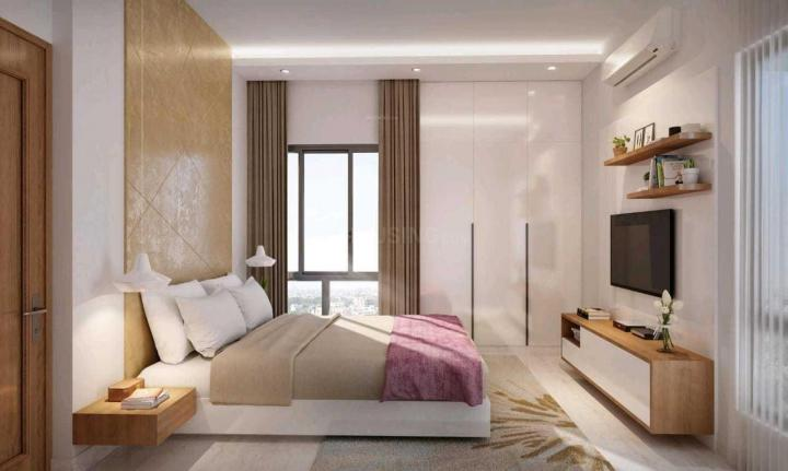 Bedroom Image of 1195 Sq.ft 3 BHK Apartment for buy in Srijan Natura, New Alipore for 6811500