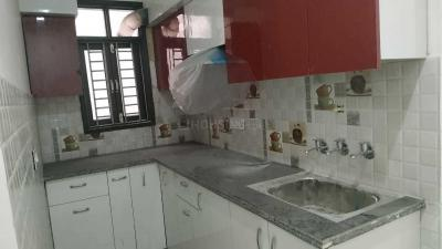 Gallery Cover Image of 540 Sq.ft 1 BHK Independent Floor for rent in Dwarka Mor for 8500