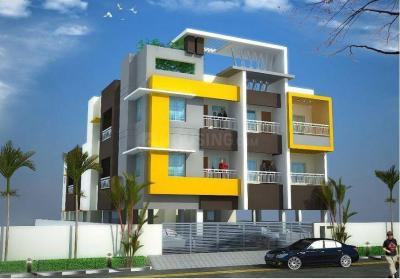 Gallery Cover Image of 735 Sq.ft 2 BHK Apartment for buy in Nanmangalam for 3381000