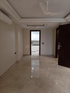 Gallery Cover Image of 1000 Sq.ft 1 BHK Independent Floor for rent in Chittaranjan Park for 25000