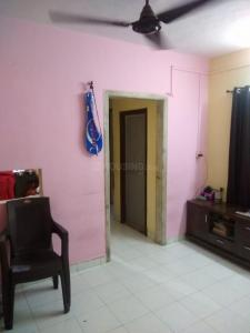 Hall Image of 600 Sq.ft 1 BHK Apartment for buy in Green Park, Airoli for 8300000