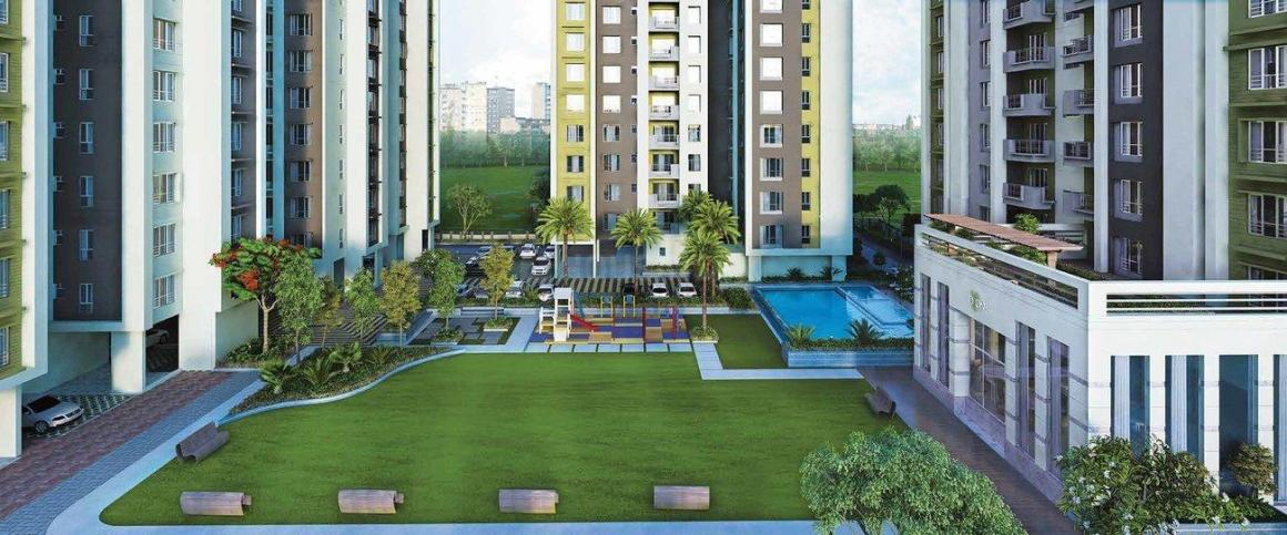 Building Image of 1100 Sq.ft 2 BHK Apartment for buy in Baishnabghata Patuli Township for 6830000