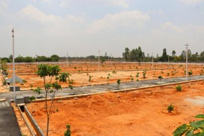 Gallery Cover Image of 1200 Sq.ft Residential Plot for buy in Battarahalli for 2880000