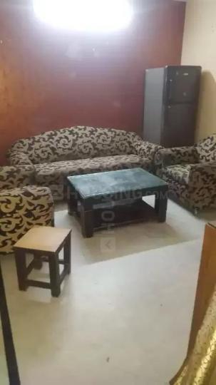 सरिता विहार में स्वीट पीजी होम्स में लिविंग रूम की तस्वीर