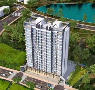 Gallery Cover Image of 650 Sq.ft 1 BHK Apartment for buy in Seasons Orchid, Kalyan West for 3800000