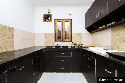 Kitchen Image of Oyo Life Del2076 Saket Metro Stn in Lado Sarai